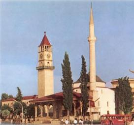 Ethem Bey Mosque in Tirana